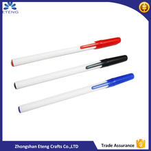Wholesale cheap custom printed ballpoint pen,plastic pens