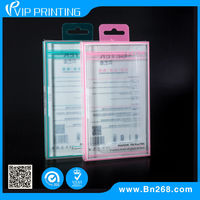 Custom Design PVC Hard Plastic Mobile Case Iphone Blister Packaging