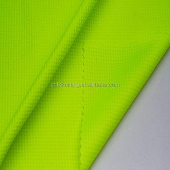 jersey fabric for basketball garment fabric, weft polyester footballwear fabric