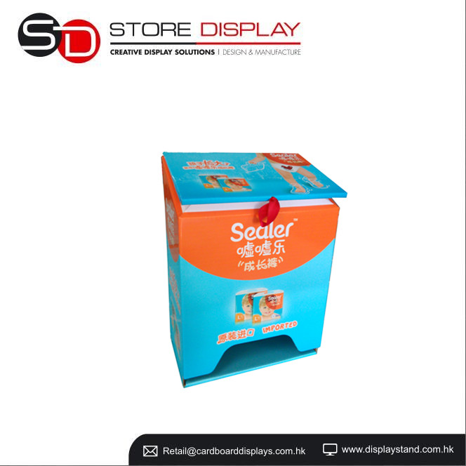 POP Baby diaper sealer counter display