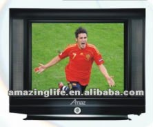 crt tv flat 14 inch with good quality