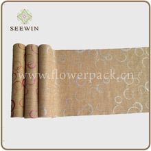 elegant artificial jute roll for table runner -China factory supplier