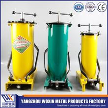 Manual hydraulic hand oil pump