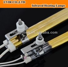 Short wave twin tube infrared heating lamp for Heidelberg printing machine speed master 102