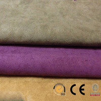 Suede Fabric Shoes Materials/Suede Fabric Car Seat Covers/Waterproof Suede Fabrics