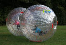 China manufacture inflatable bubble zorb ball/bumper ball for sale/Bubble soccer game