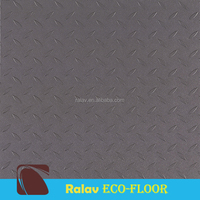 Fiberglass Luxury Commerial Vinyl Tile Flooring
