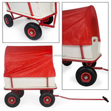 Folding wagon Bollerwagen with canopy and seats