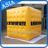 Air inflatable tire balloon / Cube shape helium balloon for advertising