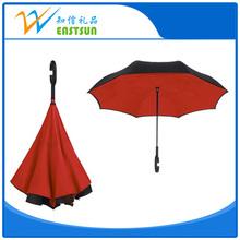 Orange Color Profession Manufacturer Double Layer Inverted Umbrella China