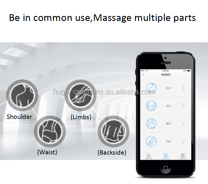 Bluetooth Mini Massager BH-36