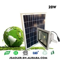 solar panel ip65 waterproof 20W solar light home solar systems