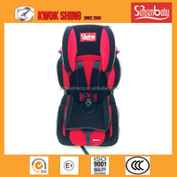 High quality baby car seat, with flocked fabric seat cover, with ECE R44/04 E1 Ceitification