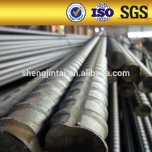 Tensioning Screw thread steel bar in stock