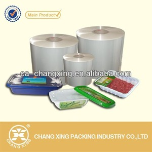 Transparent tray cup Lidding Films for PP/PET/PS/PVC container