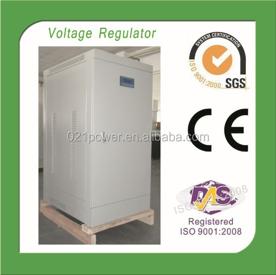 3phase auto voltage regulator for computer 50kva 400v
