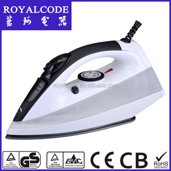 Professional steam iron Ceramic soleplate 2000W,Auto-shut off function is safe for hotel service