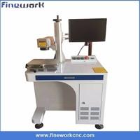Jinan manufacture handle fiber laser metal colorful marking machine price