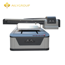 UV 6090 Flatbed Printer For Flat Object With Two Printhead