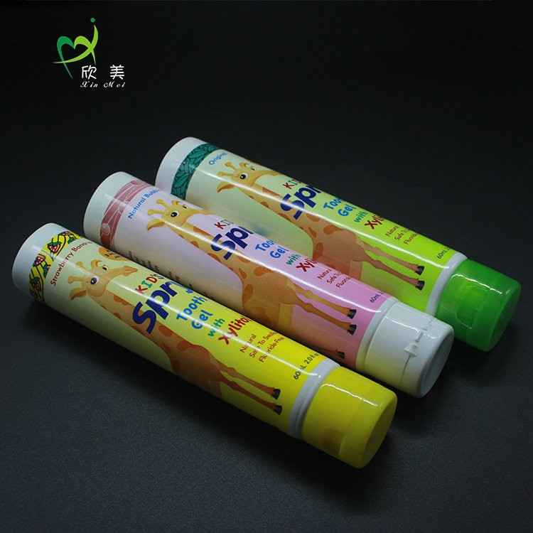 Good price high quality professional well-designed flip top plastic tube