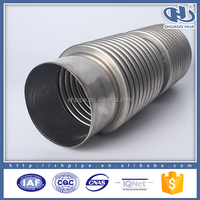 exhaust system 304 stainless steel pipe price per meter