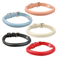Hot sale Real Leather Waterproof Pet Collar