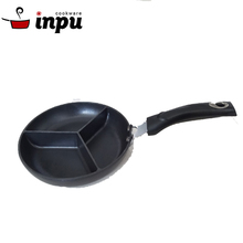 Special design divided barbecue grill pan stove grill pan