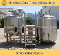 High quality red copper tank used brewery equipment for sale for hotel