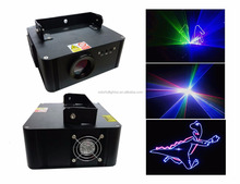 cheap dj disco laser light 3D animation effect professional rgb lasers lightprofessional stage sd card animation laser