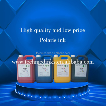 High quality solvent ink Flora inkjet printer ink solvent ink for spectra Polaris 512 35PL solvent ink