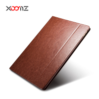 XOOMZ PU Leather Stand Case for Apple iPad Pro 12.9 Inch Flip Cover with Wake Up/Sleep Smart Function