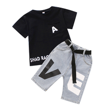 DRXX1905BDX0765 New trends 2019 boys t shirts <strong>sets</strong> summer <strong>children</strong> clothing <strong>sets</strong> wholesale short sleeve kids clothes <strong>set</strong>