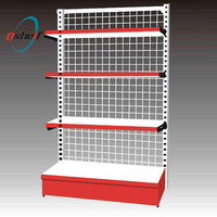 Alibaba store Best Selling Wire Mesh Metal Strong Boltless Shelving Units