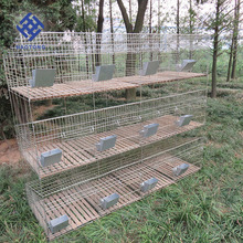 New Folding Wire Rabbit Cages, Easy Clean Rabbit Cage For Sale