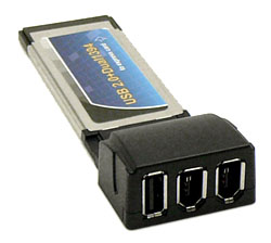 Dual USB 2.0 To Expresscard 34 Adapter