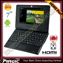 cheapest mini laptop hdm i touch screen with hdm i port
