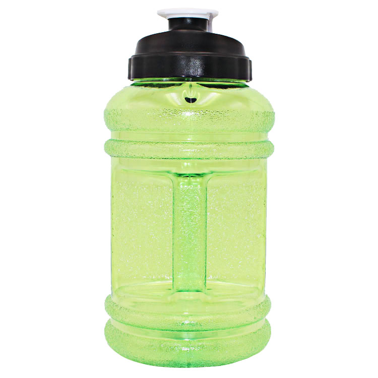 Free samples PETG plastic bpa free 2.2L Water Bottle with tape sporting goods