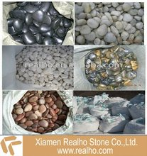polished river stone