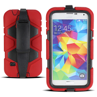 Rugged Mobile Phone Holster Cover Case for Samsung Galaxy S5