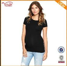 Pregnant women dresses/wholesale blank maternity t shirts clothes