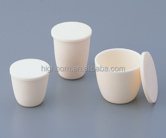 high temperature ceramic melting pot crucible