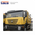 Iveco technology Genlyon 380hp 18CBM dump truck CQ3254HTG364 for Ethiopia and Djibouti