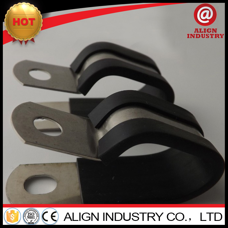customized automotive p type rubber pipe clips with CE certificate