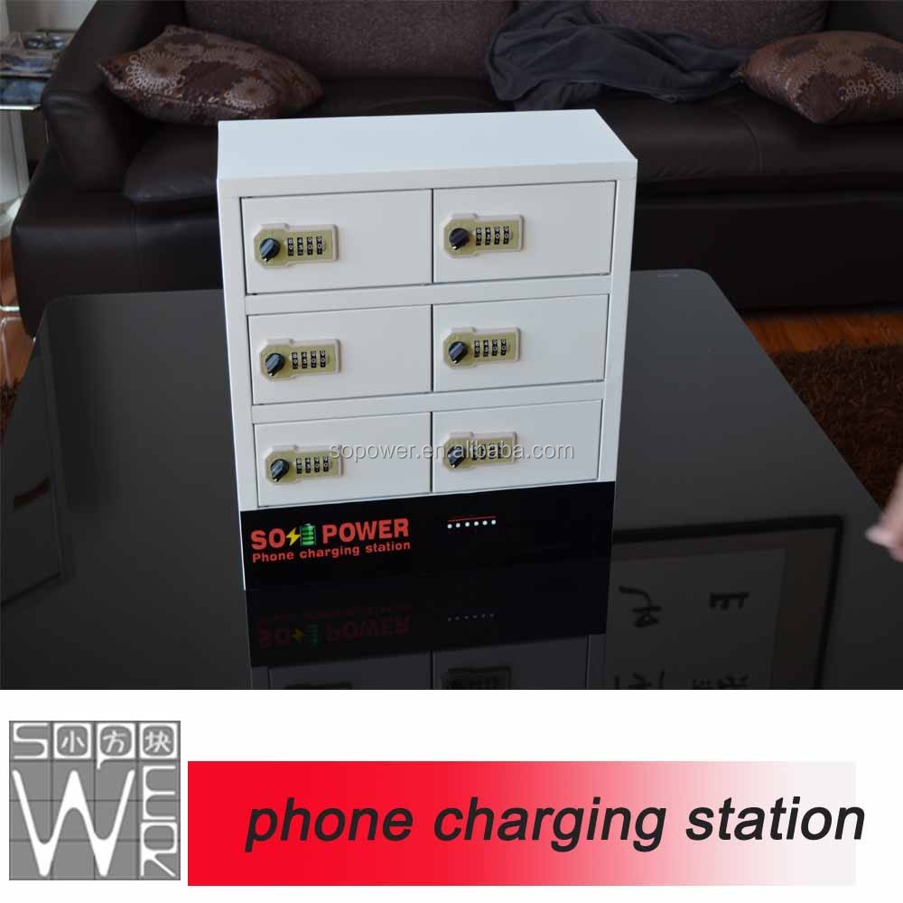 China Sopower Usb port charging <strong>cell</strong> <strong>phone</strong>/mobile <strong>phone</strong> lockers