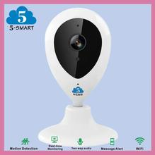 Day and night monitor external camera for smart phones