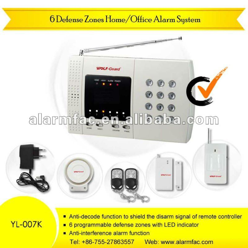Car hospital school library outlet security alarm for resell online rc YL-007K
