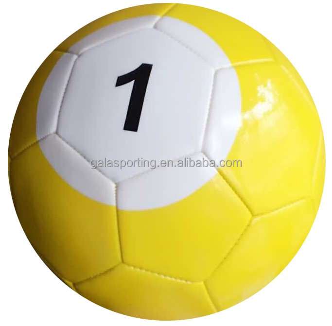 Soccer Ball Factory 5# Gaint Snook Ball Snookball Snooker Billiards Soccer 8 Inch Game Huge Pool Football
