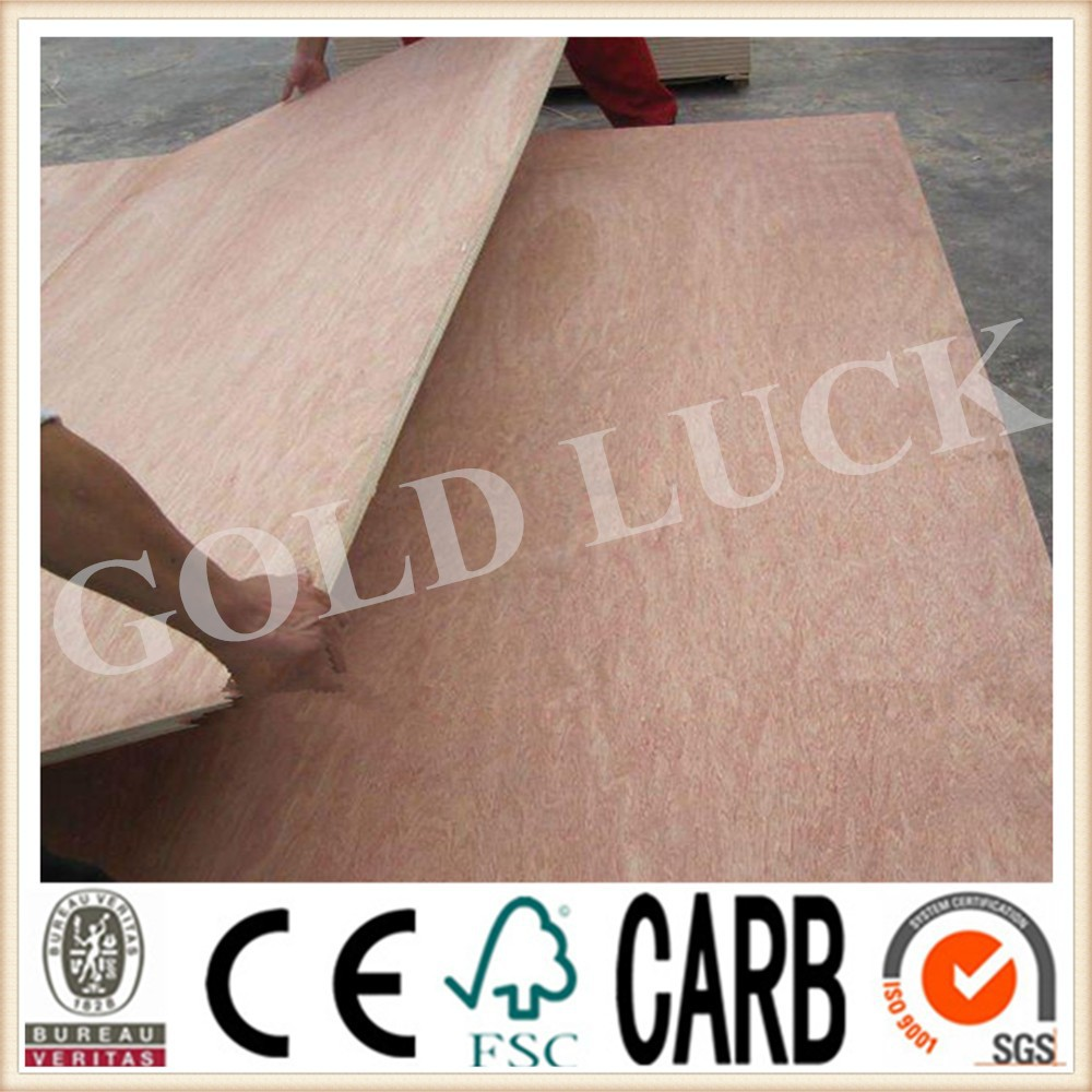 Yuncheng Tianyuan Wooden Co., Ltd. QINGDAO GOLD LUCK PLAYWOOD Okoume Playwood / Marine Playwood / Commercial Playwood Sheet