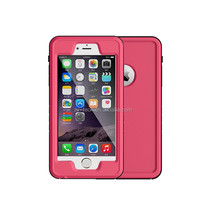 factory price for iphone 6plus phone unlocked waterproof case, clear tpu for iphone 6plus casecover