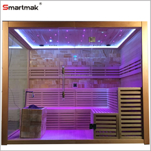 Crystal Stove Sauna Room With Bluetooth Wireless Speaker